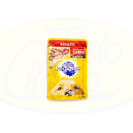 Picture of Pedigree Sachet Adulto Carne 100gr