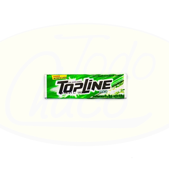 Picture of Chicle Topline Menta 11g