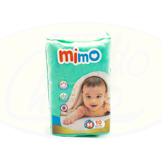 Picture of Pañal Mimo Mediano Mini Paq 10 Unidades