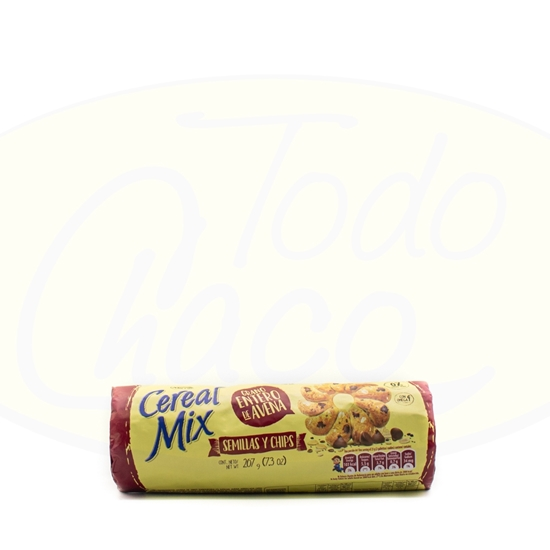 Imagen de Galletitas Cereal Mix Semillas y Chips 207g