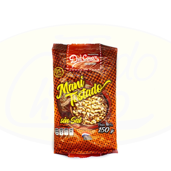 Picture of Mani Tostado Sin Sal Dul-Cesar 150g