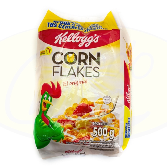 Picture of Cereal Corn Flakes Kelloggs 500g