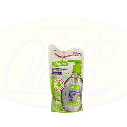 Picture of Alcohol En Gel Algabo Sanitizante Doy Pack 300ml