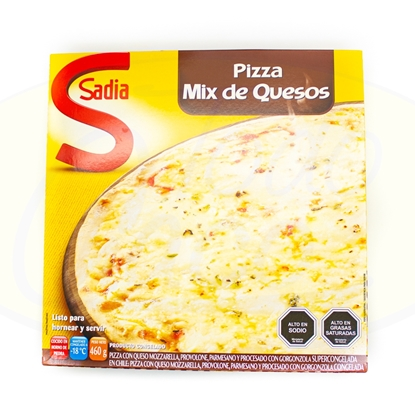 Picture of Pizza 4Quesos Sadia 460g