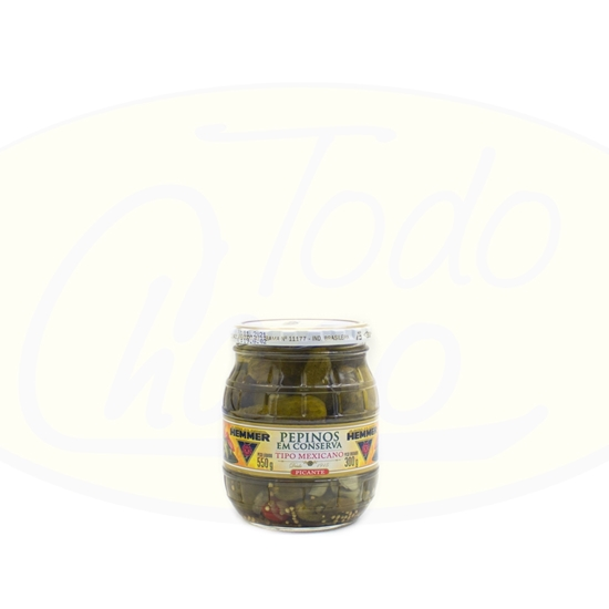 Picture of Pepino En Concerva Hemmer Picante 300g