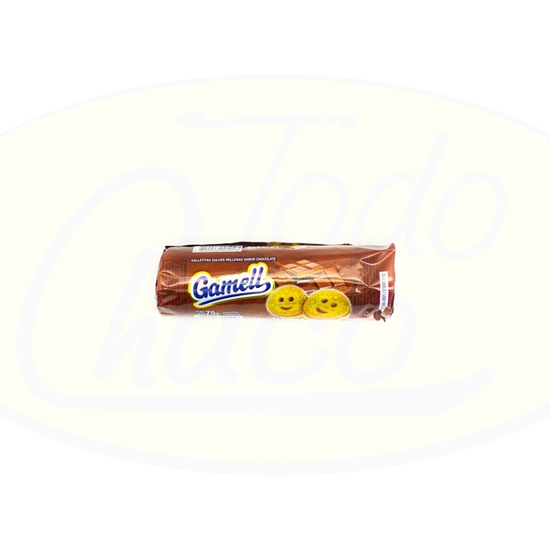 Imagen de Galletitas Chocolate Gamell 75gr