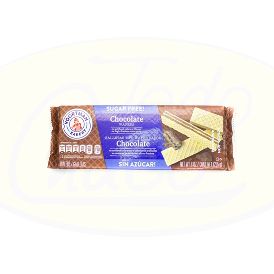 Picture of Wafers Voortman Chocolate Sin Azucar 255g