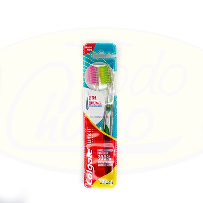 Bild von Cepillo Dental Colgate Slim Soft Advanced 2Pack