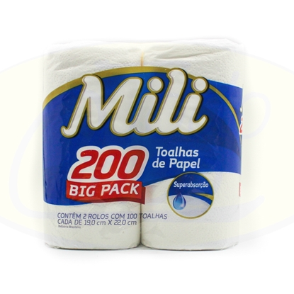 Picture of Papel De Cocina Mili Big Pack 19cm x 22cm 200u