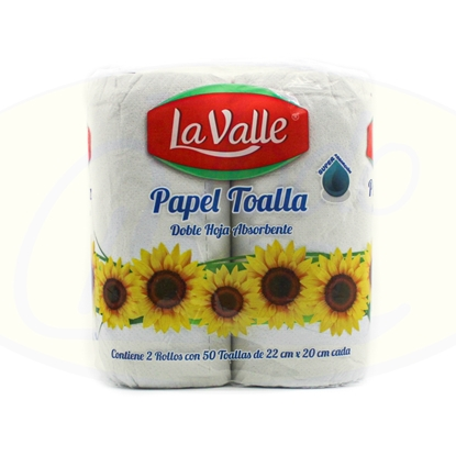 Picture of Papel De Cocina La Valle 2u