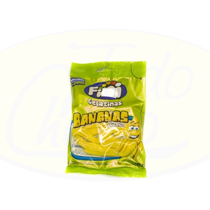 Picture of Caramelos Gelatina Bananas Fini 100g