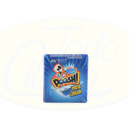 Picture of Chicle Pinta Lengua Poosh Arcor 200g