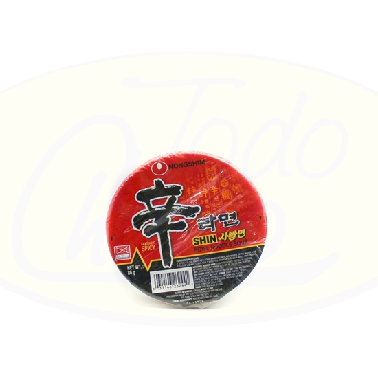 Picture of Sopa De Fideo Nongshim Bowl 86g
