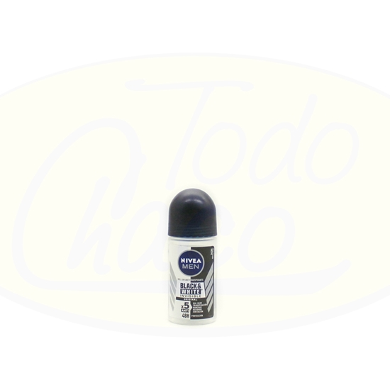 Bild von Roll on Nivea Men Black & White Original 50ml