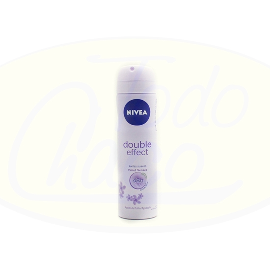 Picture of Desodorante En Aerosol Nivea Double Effect 150ml