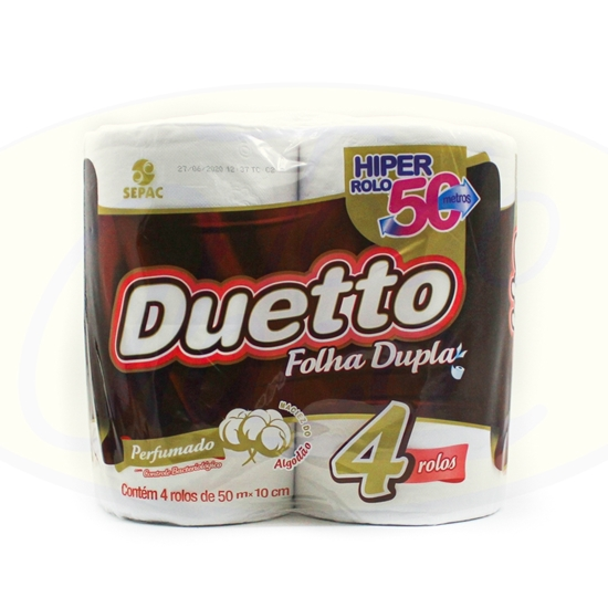 Picture of Papel Higienico Duetto Doble Perfumado 4 x 50m