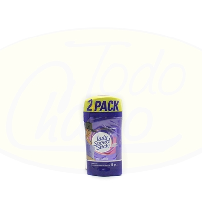 Picture of Desodorante 2Pack Barra Invisible Lady Speed Floral 45g