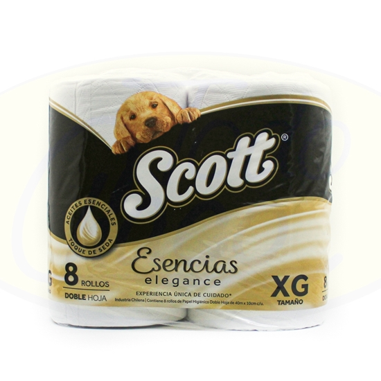 Picture of  Papel Higienico Scott Esencial Doble Hoja 8 x 40m