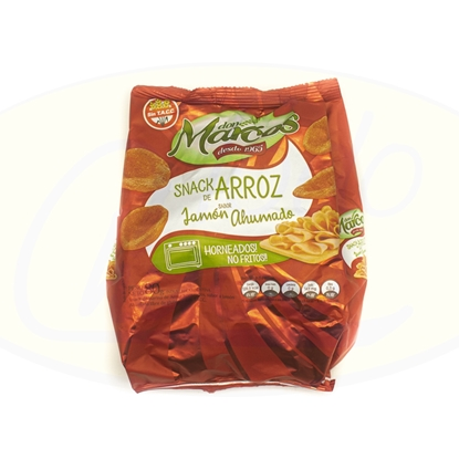 Picture of Snack de Arroz Sabor Jamon Don Marcos 80g