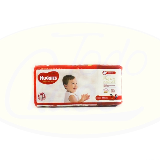 Picture of Pañal Huggies Natural Care XXG 40unidades