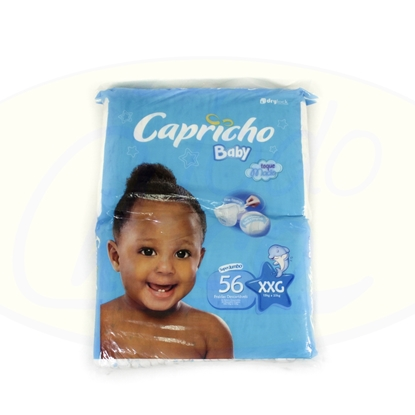 Picture of Pañal Capricho Baby XXG 56 Unidades