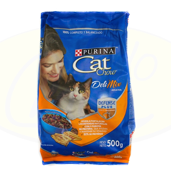 Picture of Purina Cat Chow Adultos Deli Mix 500g