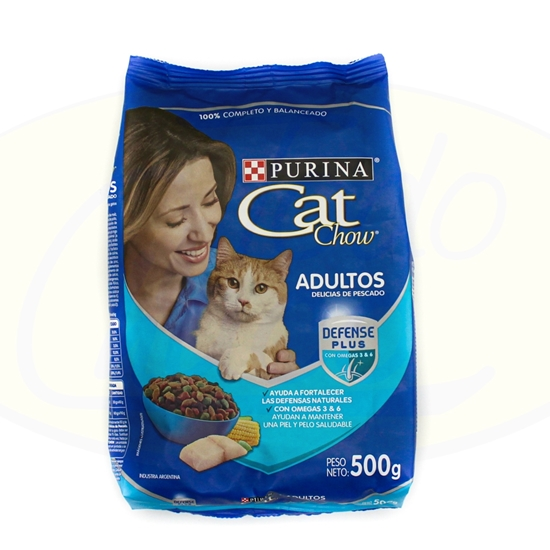 Picture of Purina Cat Chow Adultos Pescado 500g