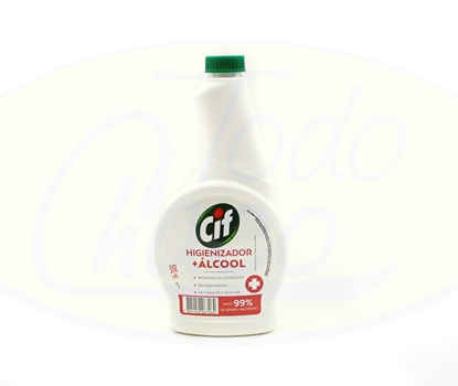 Picture of Cif Higienizador + Alcool Refil 500ml