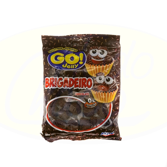 Picture of Gelatina Go Jelly Chocolate Riclan 100g