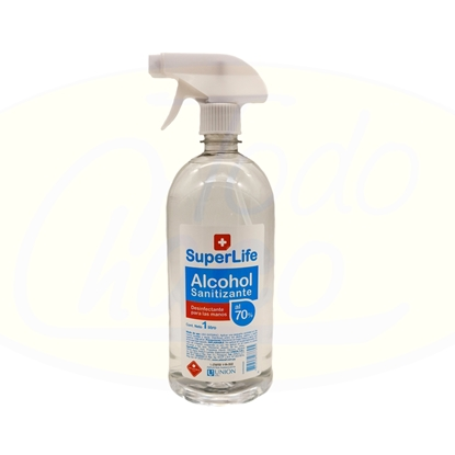 Imagen de Alcohol Sanitizante SuperLife 1L