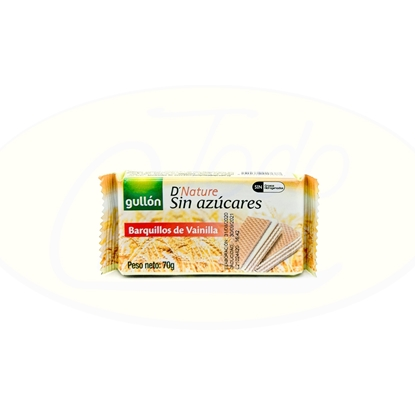 Picture of Wafer Gullon Vainilla Diet Nature 70g