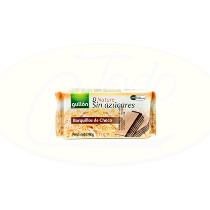 Picture of Wafer Gullon Chocolate Diet Nature 70g