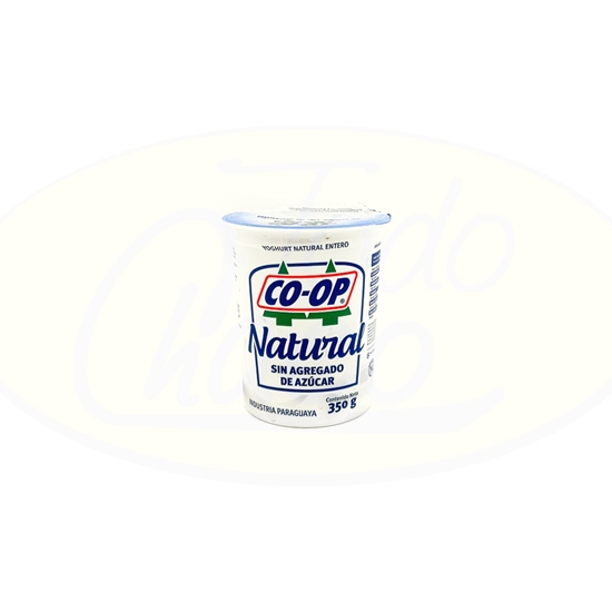 Picture of Yoghurt Natural Sin Azucar Coop 350g