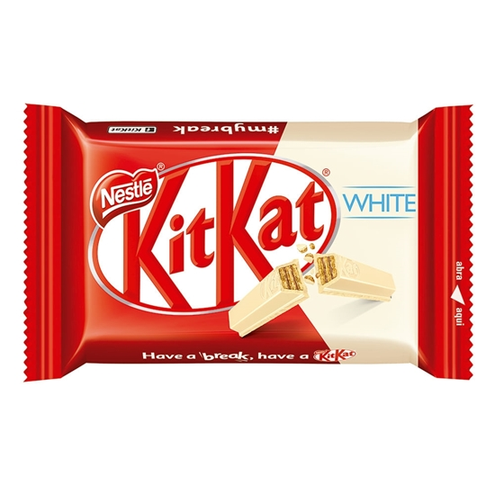 Picture of Chocolate Nestle Kit Kat Blanco 41.5g